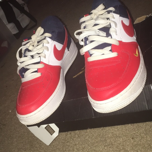 red white and blue air forces